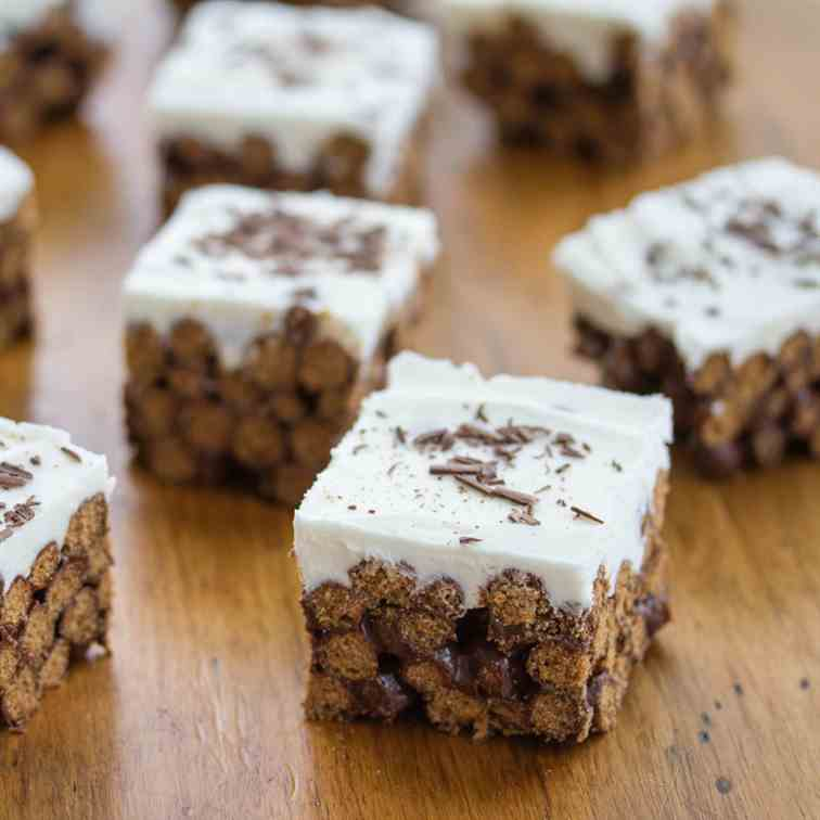 White Russian Cereal Cocktail Bars