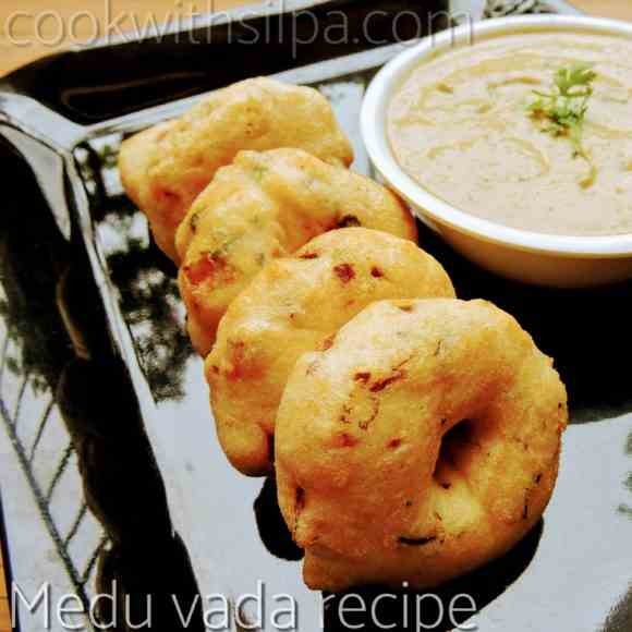 Medu vada recipe- Indian donut