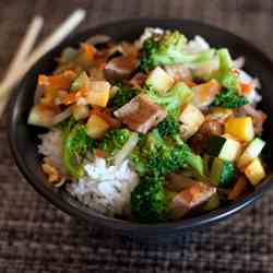 Pork Teriyaki Rice Bowl