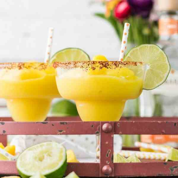 Chili Mango Margaritas