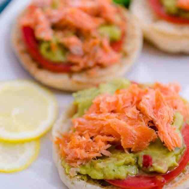 Avocado Toast Smoked Salmon