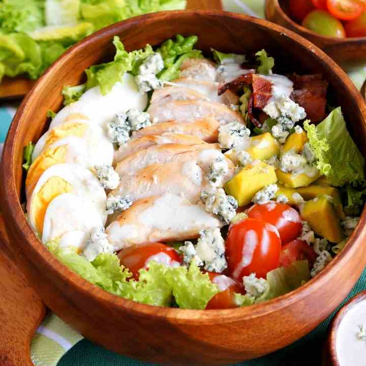 Healthy Cobb Salad with Chicken