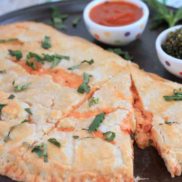 Pie Crust Pepperoni Calzone