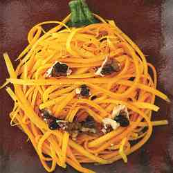 Shredded Butternut Squash Salad