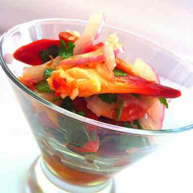 Surf Clam Ceviche