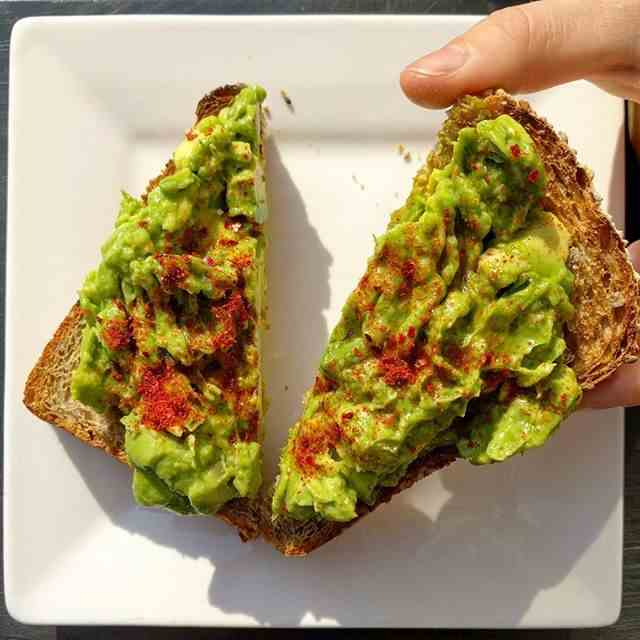 Avocado And Chili Toast