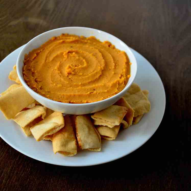 Spiced sweet potato spread