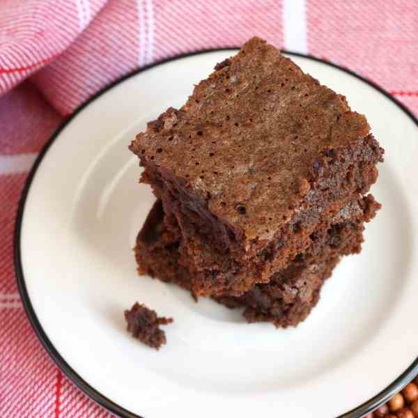 Quick One-Bowl Brownies