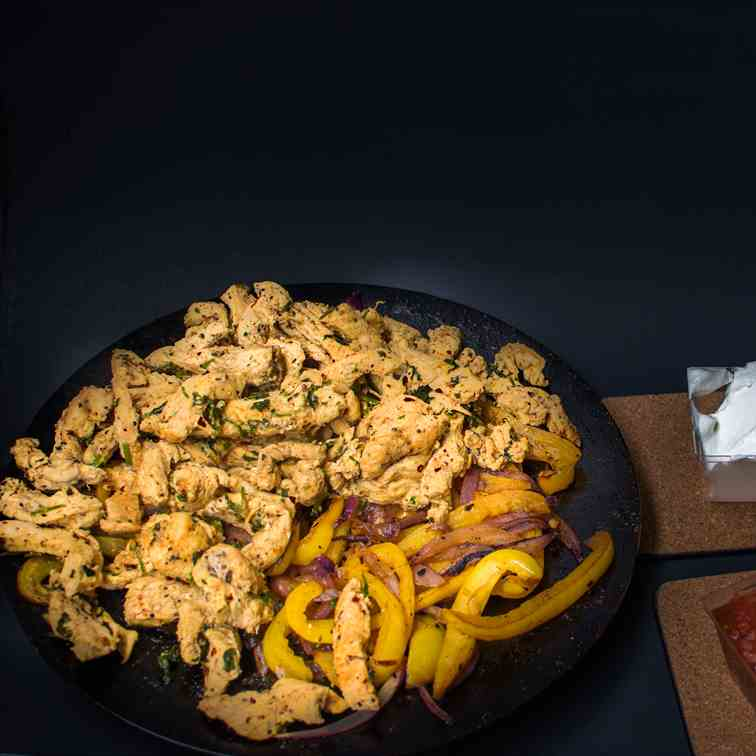 Chicken Fajitas- Perfect Mexican Meal
