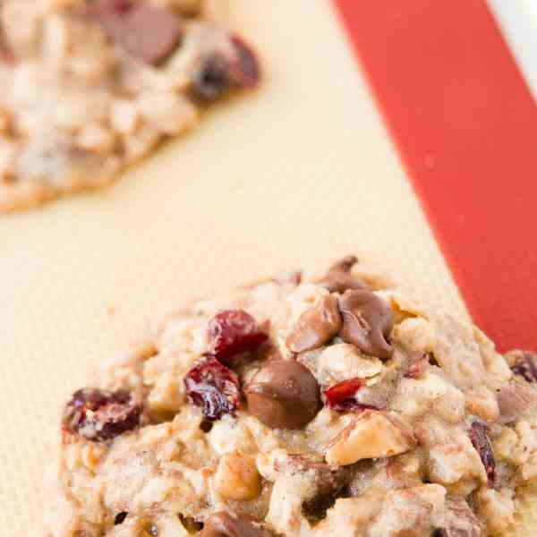 Craisin Toffee Oatmeal Cookies