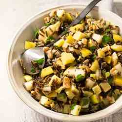 Wild Rice, Pear, and Sweet Potato Salad