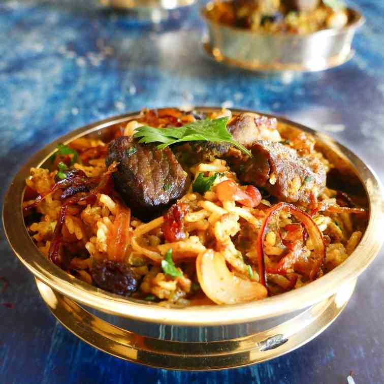 Best Instant Pot Biryani With Lamb