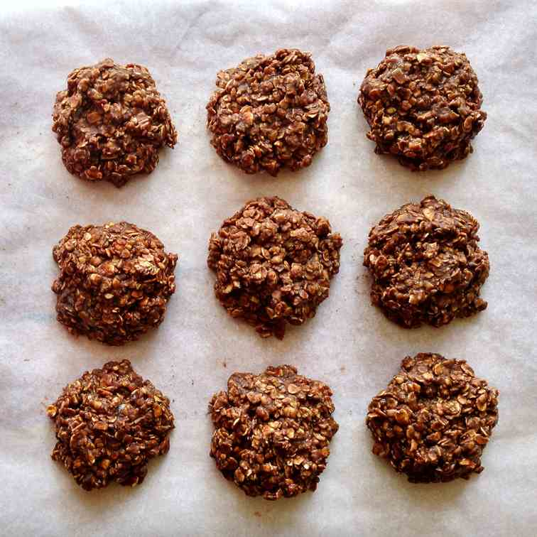 No bake Nutella cookies