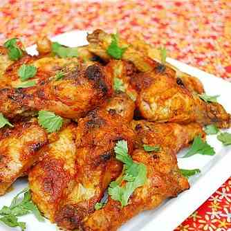 Tandoori Chicken Wings