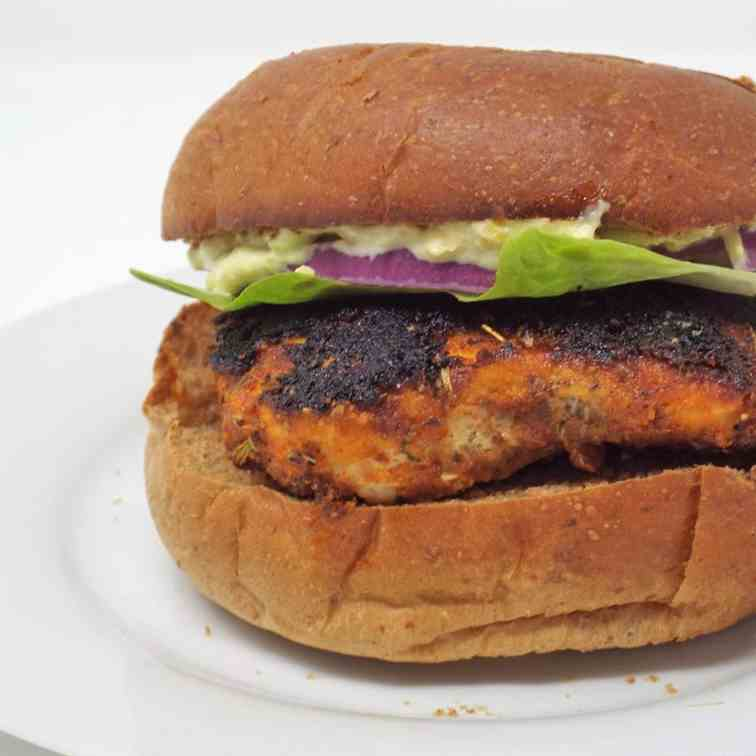 Blackened Chicken Sandwiches with Avocado