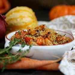 Quinoa Salad with Roasted Root Vegetables