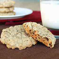 Butterscotch Oatmeal Cookie
