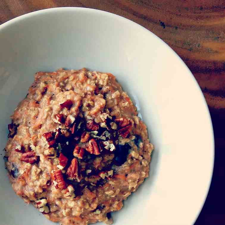 Sugar-Free Gingerbread Oatmeal