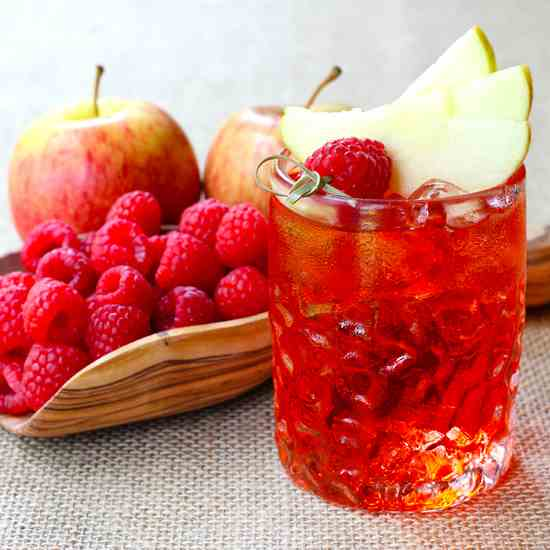 Raspberry Cider Whiskey