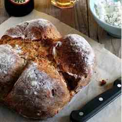 Soda bread with fennel seeds