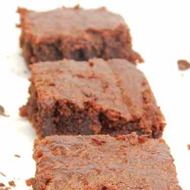 Brownies sin huevo
