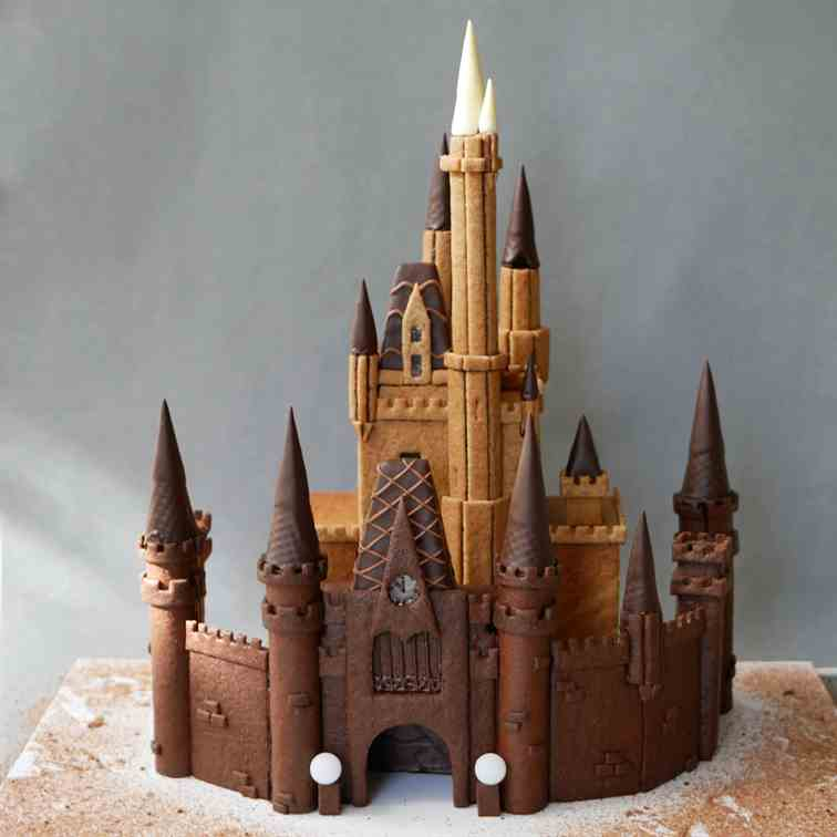 Disney Gingerbread Castle