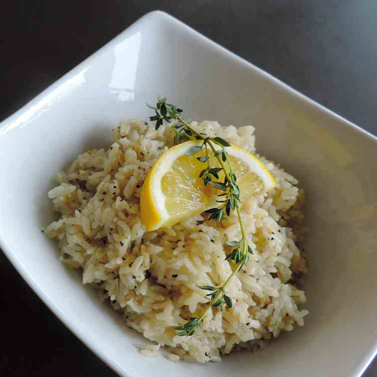 Lemon Herb Rice