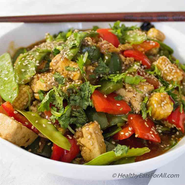 Spicy Hunan Tofu