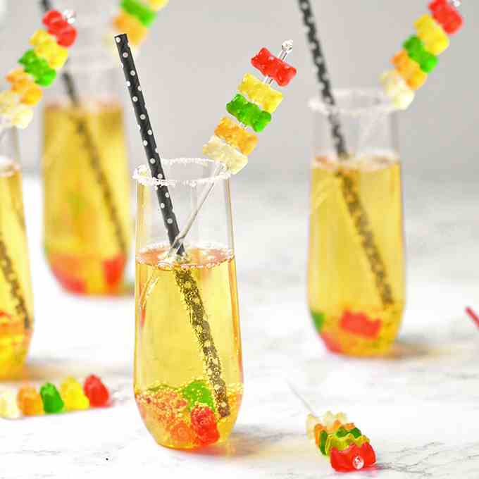 Gummy Bear Mocktails