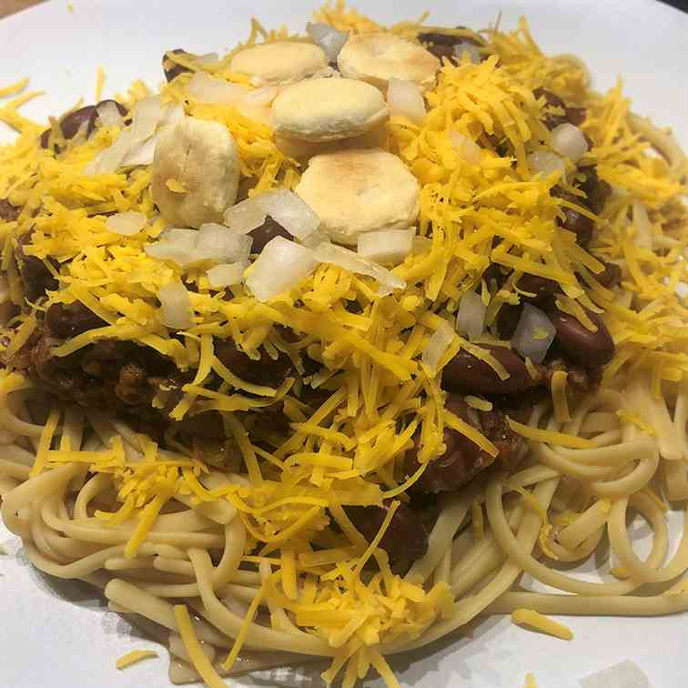 Vegan Skyline Chili