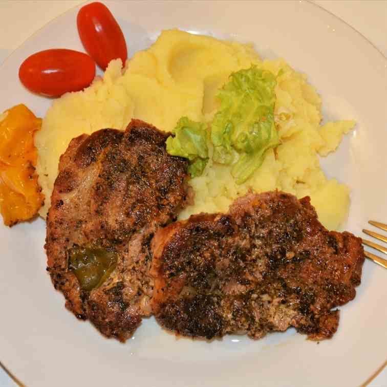 Easy Oven Baked Pork Steak Recipe