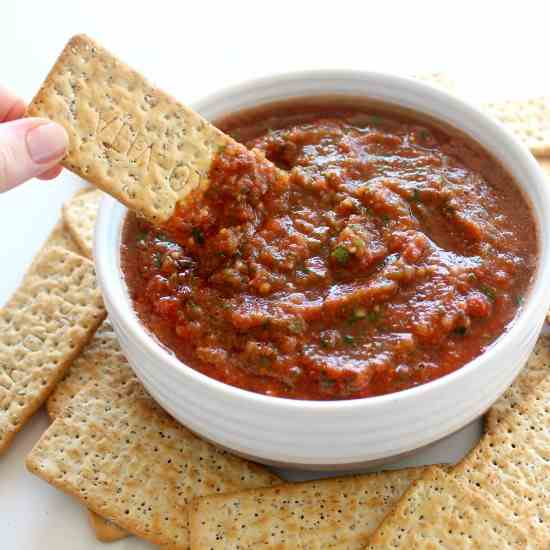 Favourite Homemade Tasty Tomato Salsa