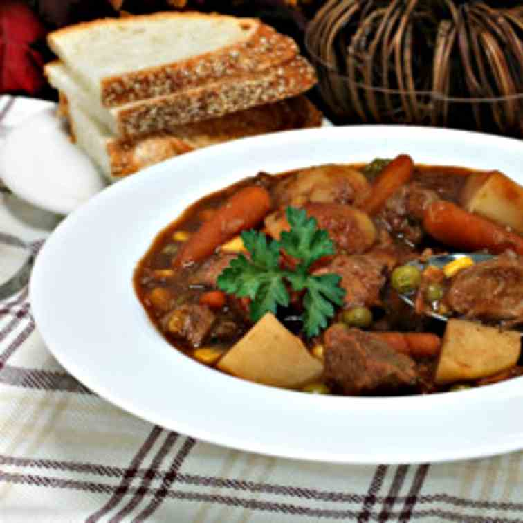 Old Fashion Hearty Beef Stew