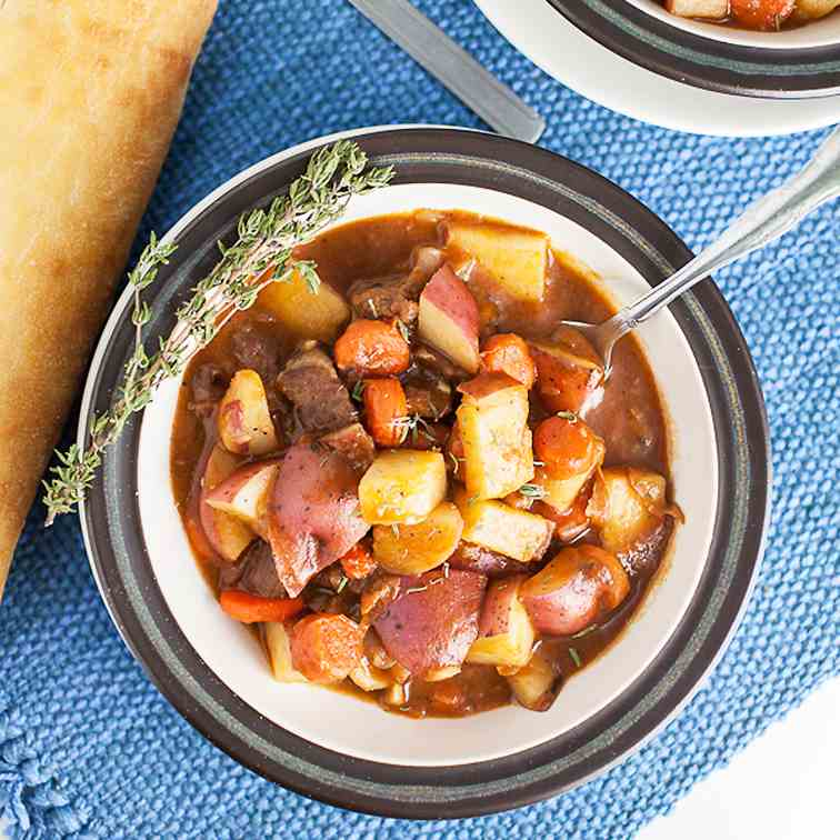 Classic Hearty Beef Stew