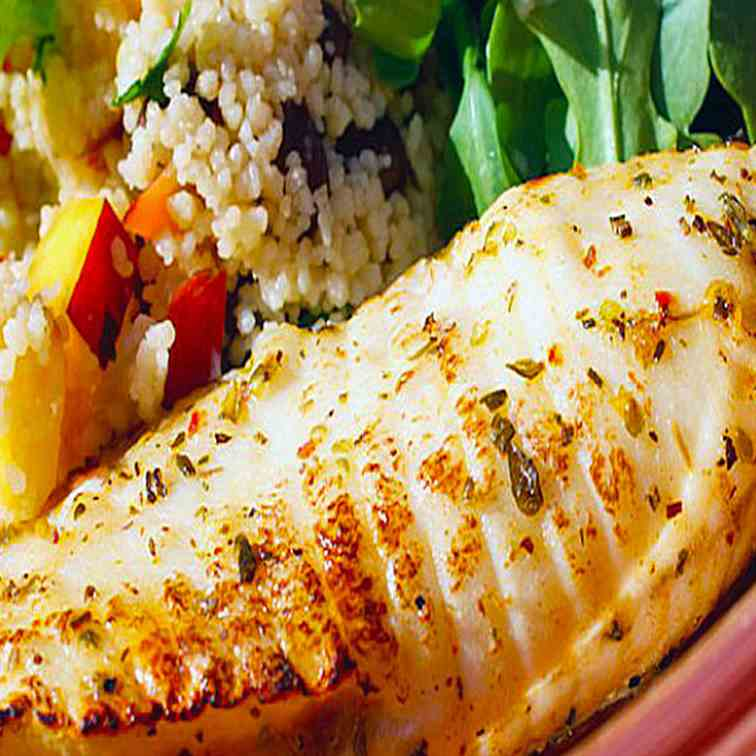 Baked Tilapia with Watermelon Salsa