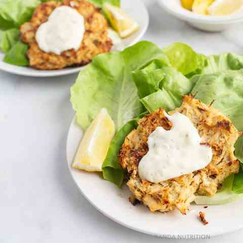 Healthy Baked Crab Cakes