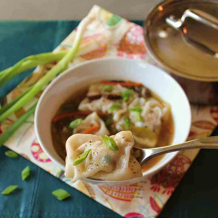 Winter Wonton Soup
