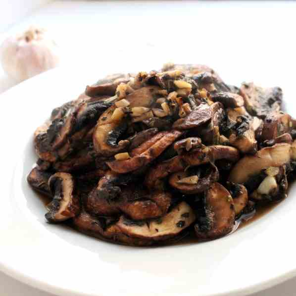 Fried Portobello Mushrooms