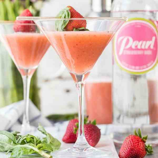 Strawberry Fields Martini