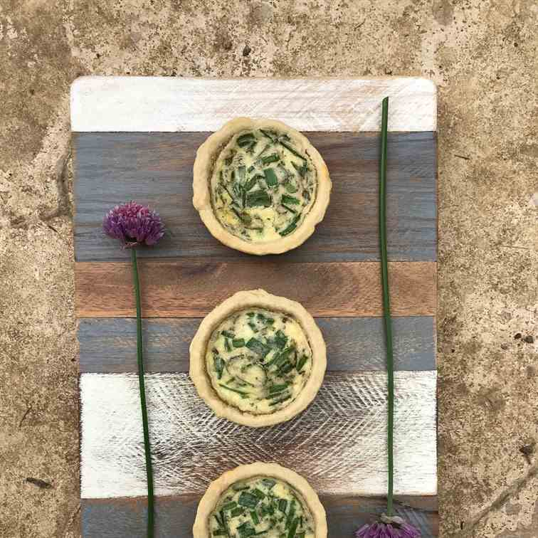 Mixed Herb Tartlets