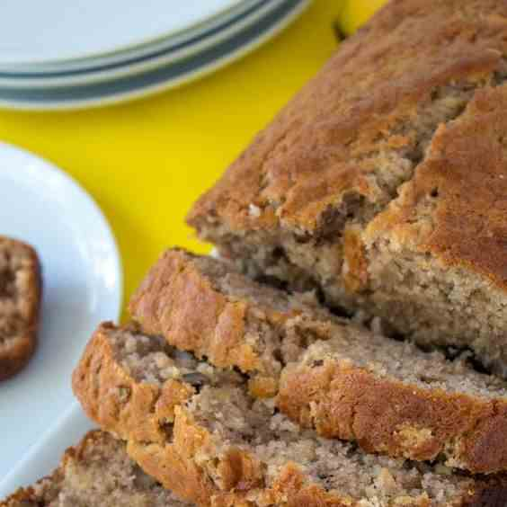 Simple Healthy Banana Bread Recipe