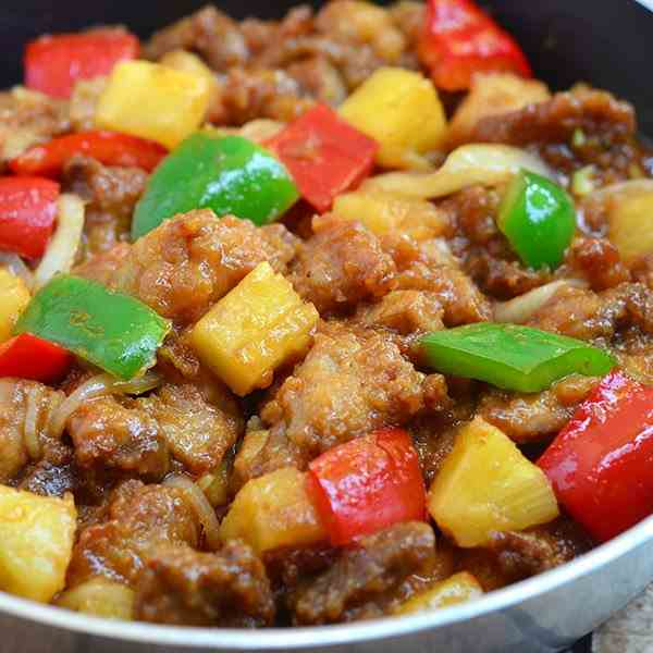 Sweet and Sour Pork Casserole