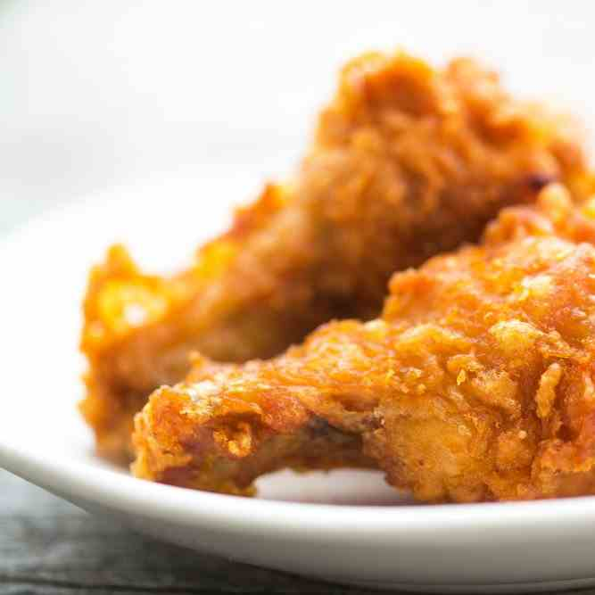 Flourless Crispy Southern Fried Chicken