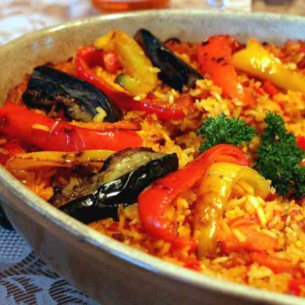 Simple Oven Paella