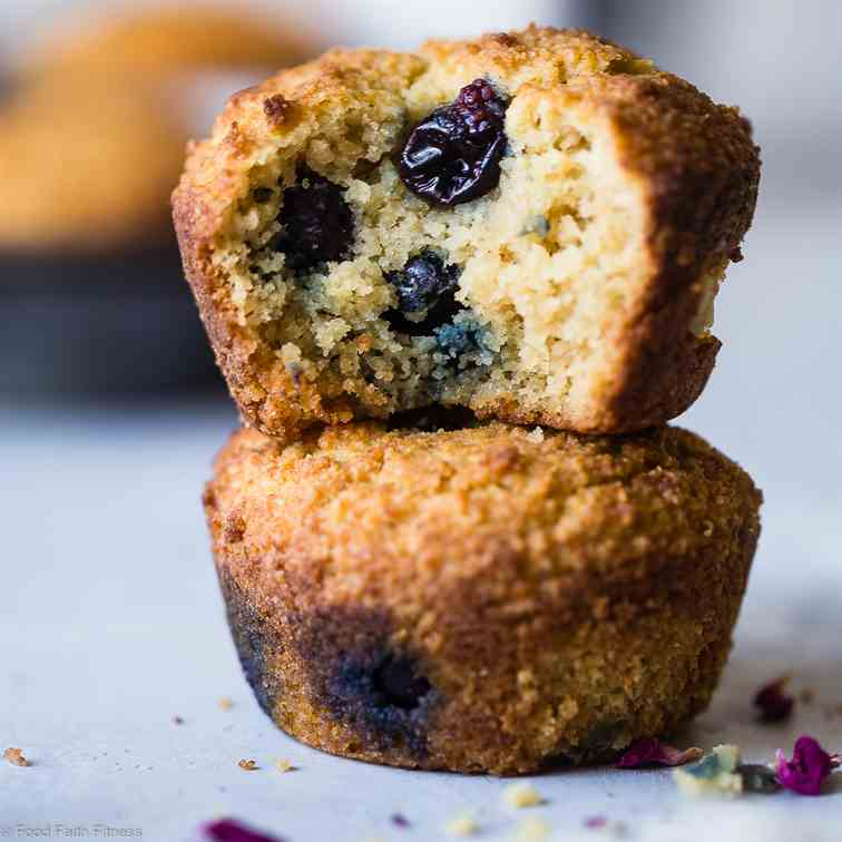 Low Carb Keto Blueberry Muffins