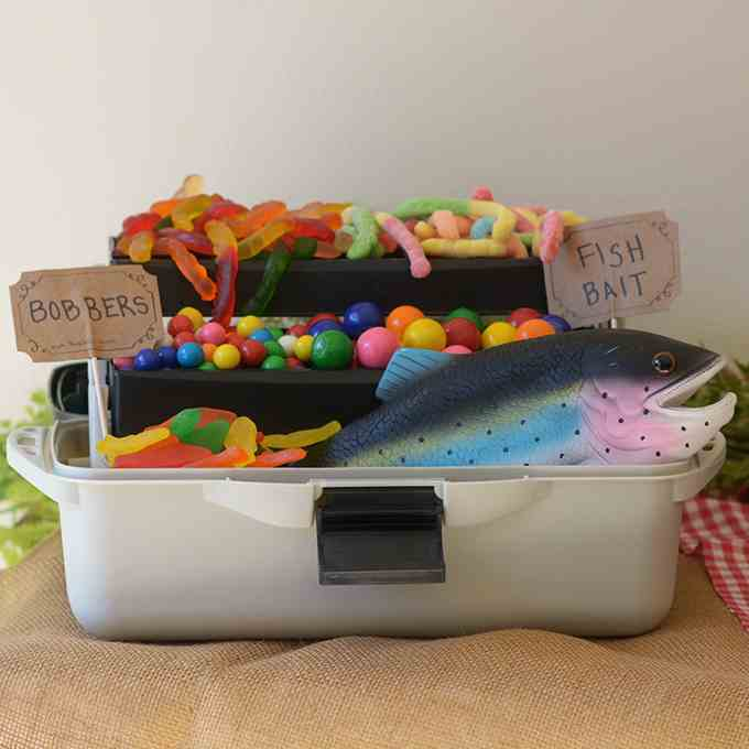 Gummy Worm Tackle Box