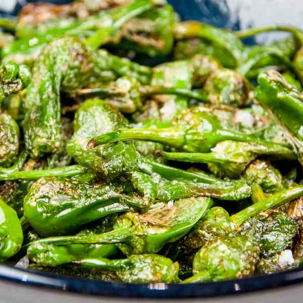 How to Cook Padron Peppers