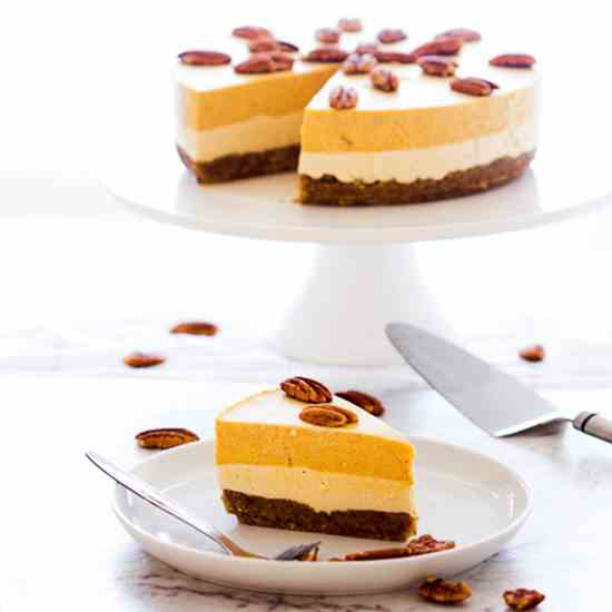 Pumpkin Pie and Maple Cream Cheesecake