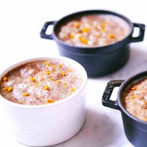 Butternut Squash Coconut Rice Pudding