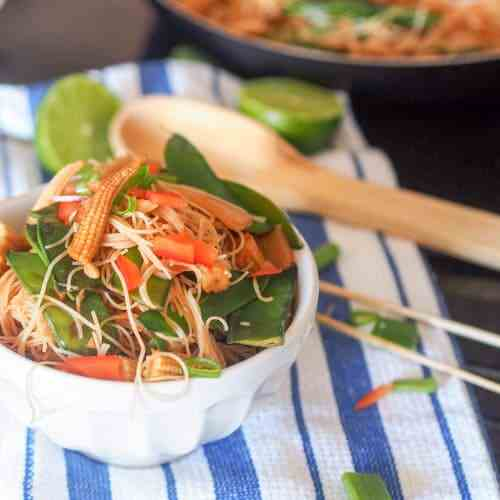 Vegan Asian Noodles